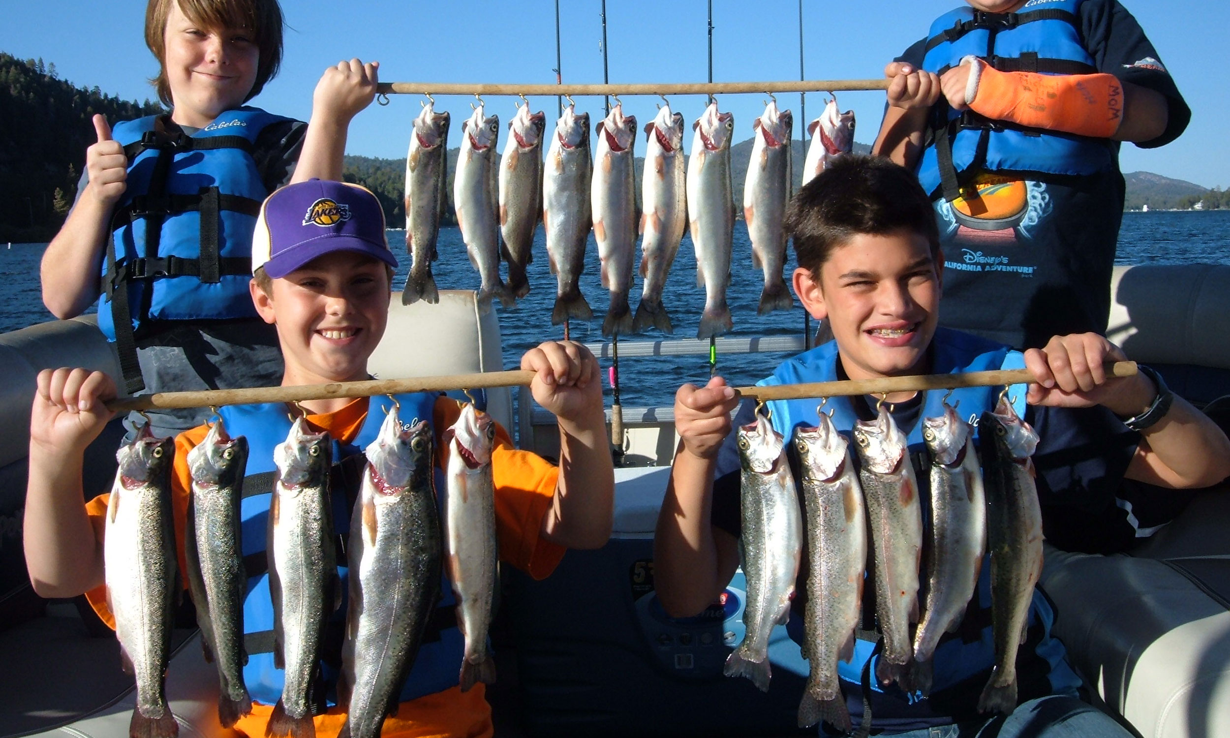 Best Fishing in Big Bear Lake