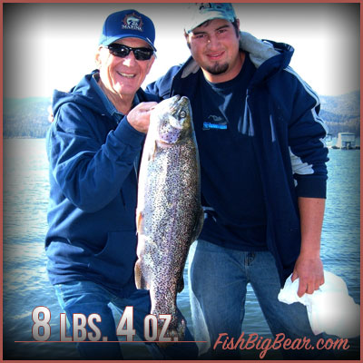 Charter Fishing in Big Bear Lake